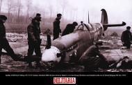 Asisbiz Spitfire LFIX RAF 308Sqn ZFT Tadeusz Szlenkier MK346 shot down by fighters Ghent Belgium 9th Nov 1944 01