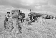 Asisbiz Spitfire MkIX RAF 308Sqn ZFB MK940 at Le Fresne Camilly Normandy 1944 IWM CL600