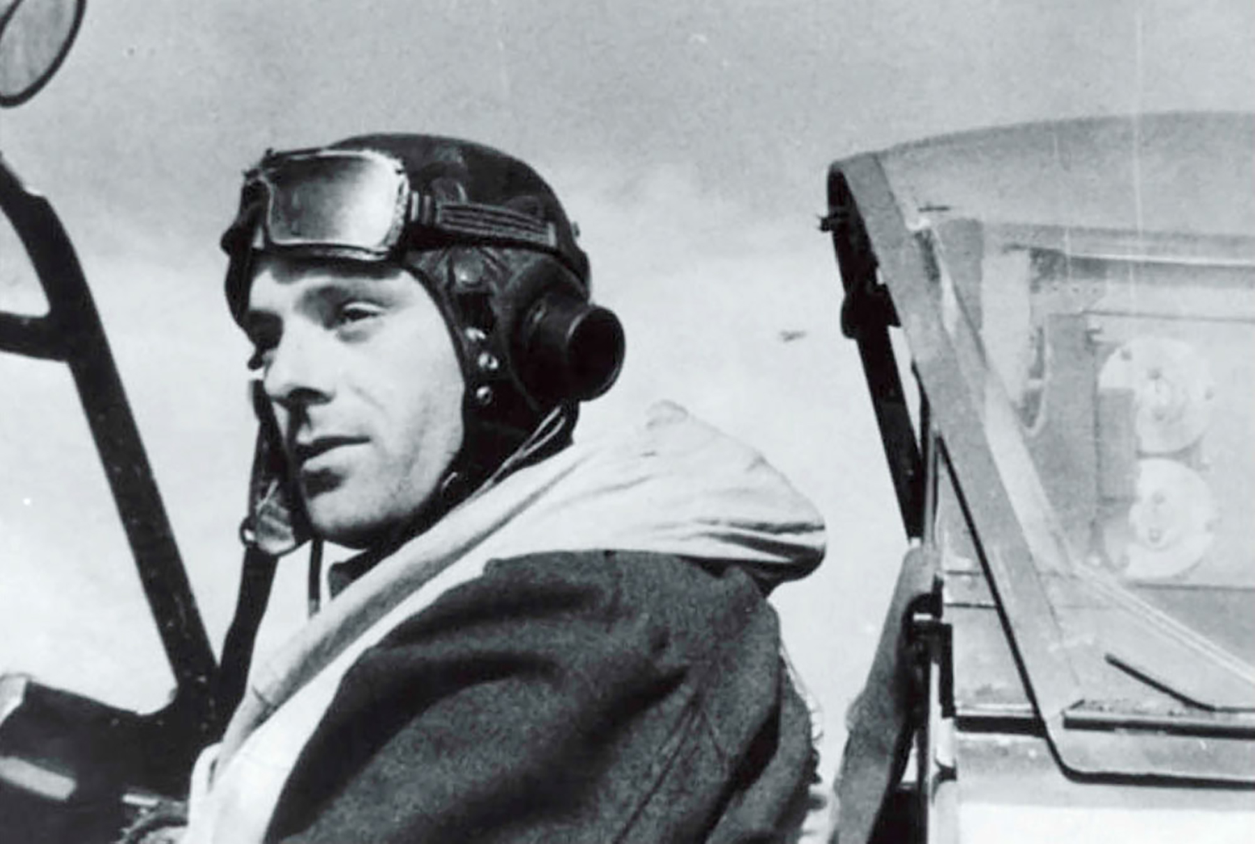 Aircrew RAF 312Sqn pilot FSgt Antonin Ocelka (Czechoslovakian) 1944 01