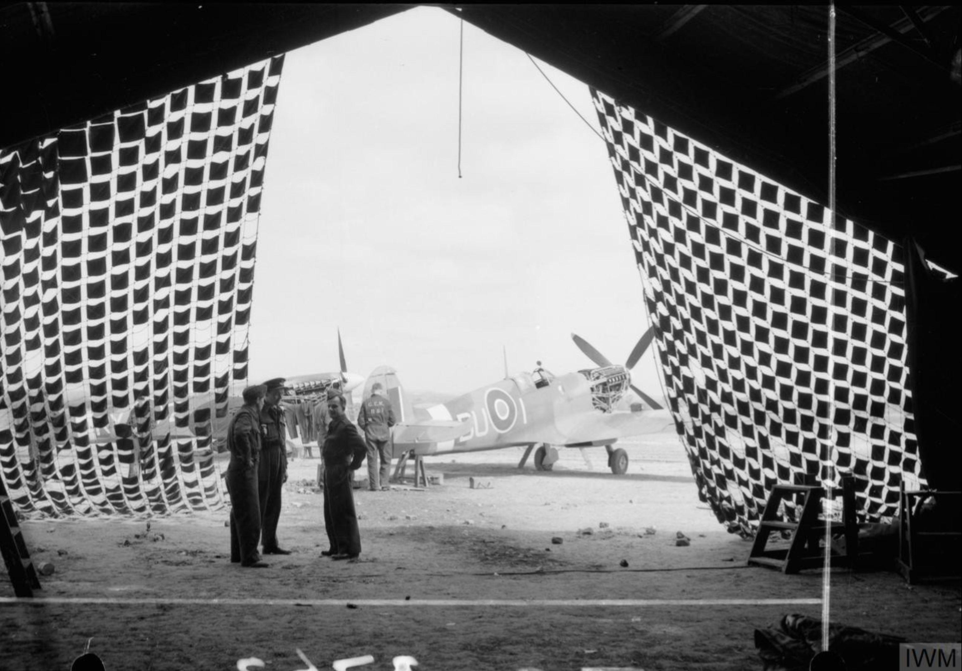 Spitfire LFIX RAF 312Sqn DUI at Appledram Sussex IWM CH18720