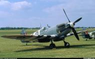 Asisbiz Airworthy Spitfire warbird LFIX RAF 312Sqn DUA TE566 02