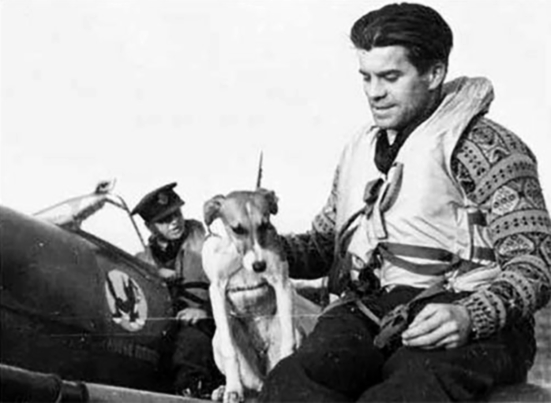 Aircrew RAF 313Sqn Czech pilot FO Vaclav Jicha England 1942 01