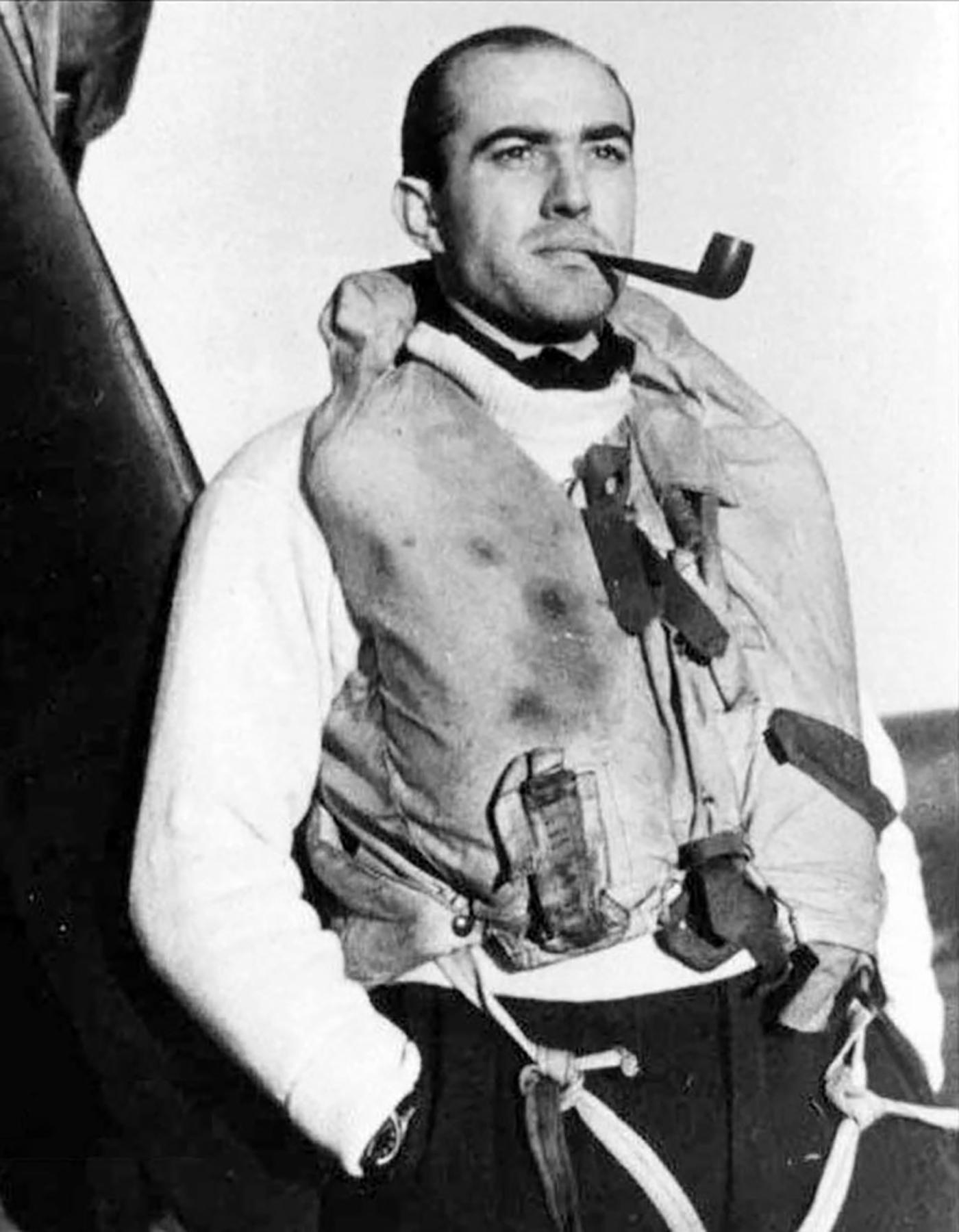 Aircrew RAF 313Sqn Czech pilot SLdr Josef Jaske England 1941 01