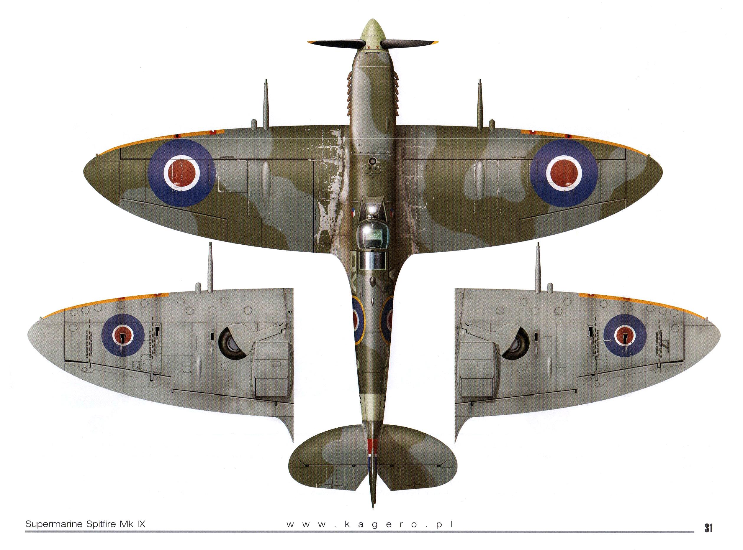 Spitfire HFIXc RAF 313Sqn Czech RYA ML148 TC15015 Supermarine Spitfire MkIX Page 27