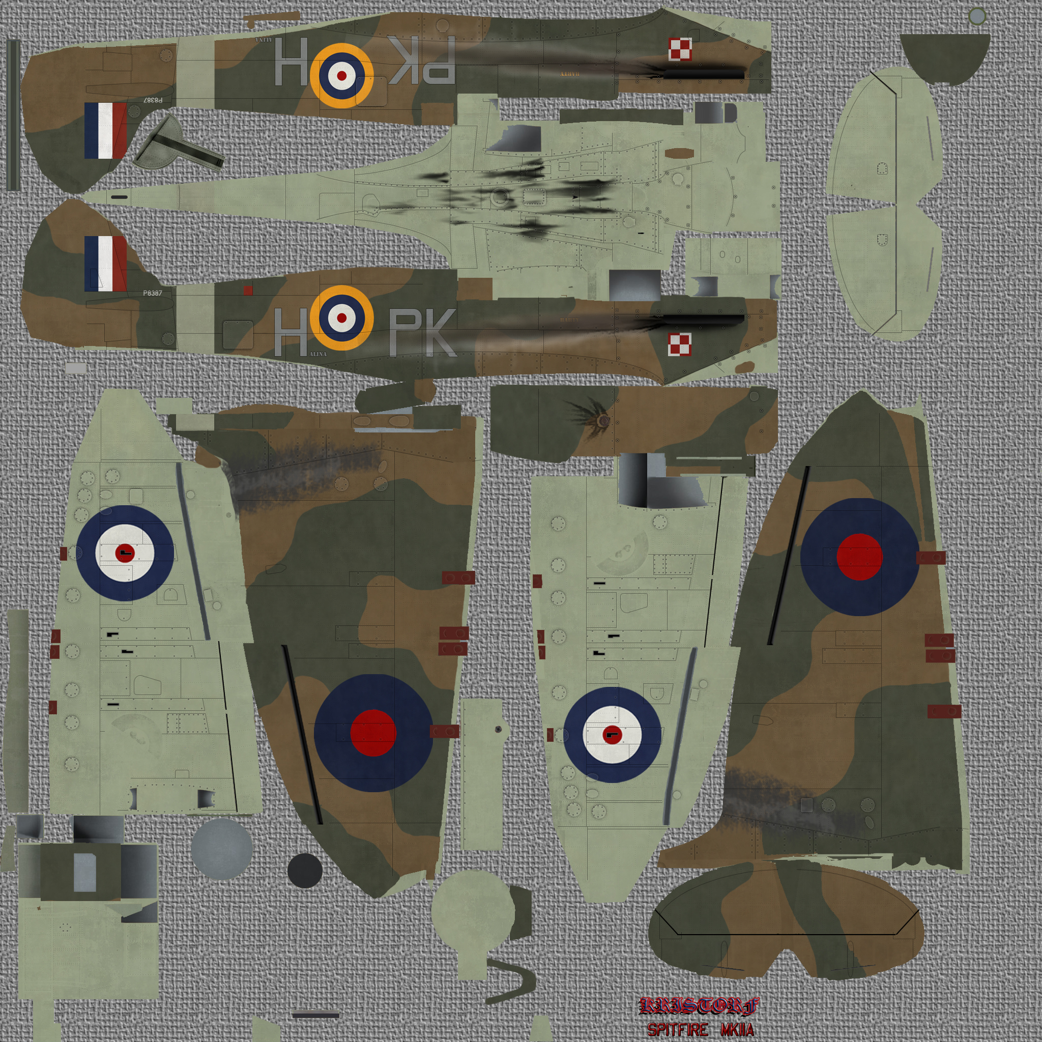 COD KF MkII RAF 315Sqn PKH P8387 Northolt England July 1941