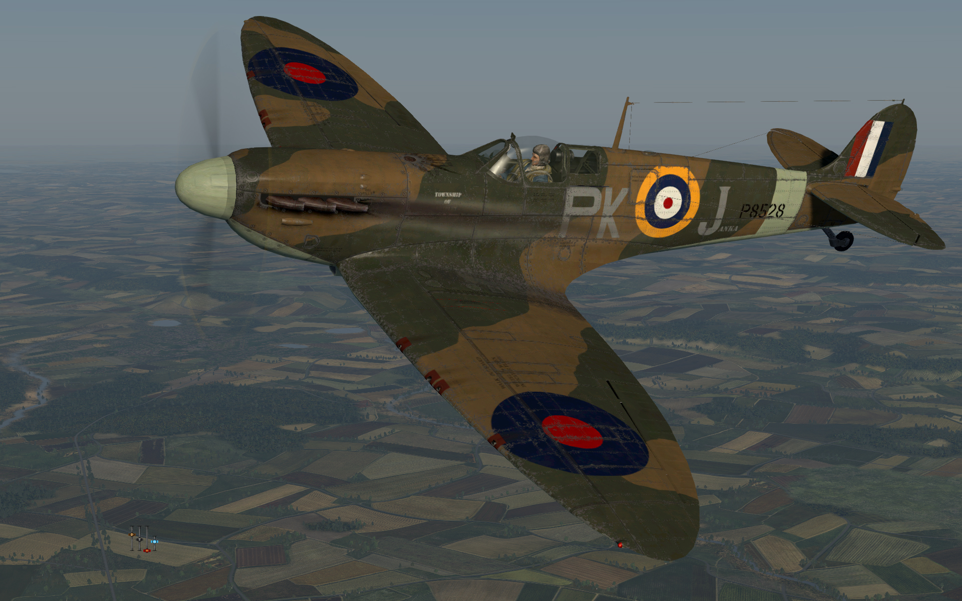 COD KF MkII RAF 315Sqn PKJ P8528 Northolt England July 1941 V0A