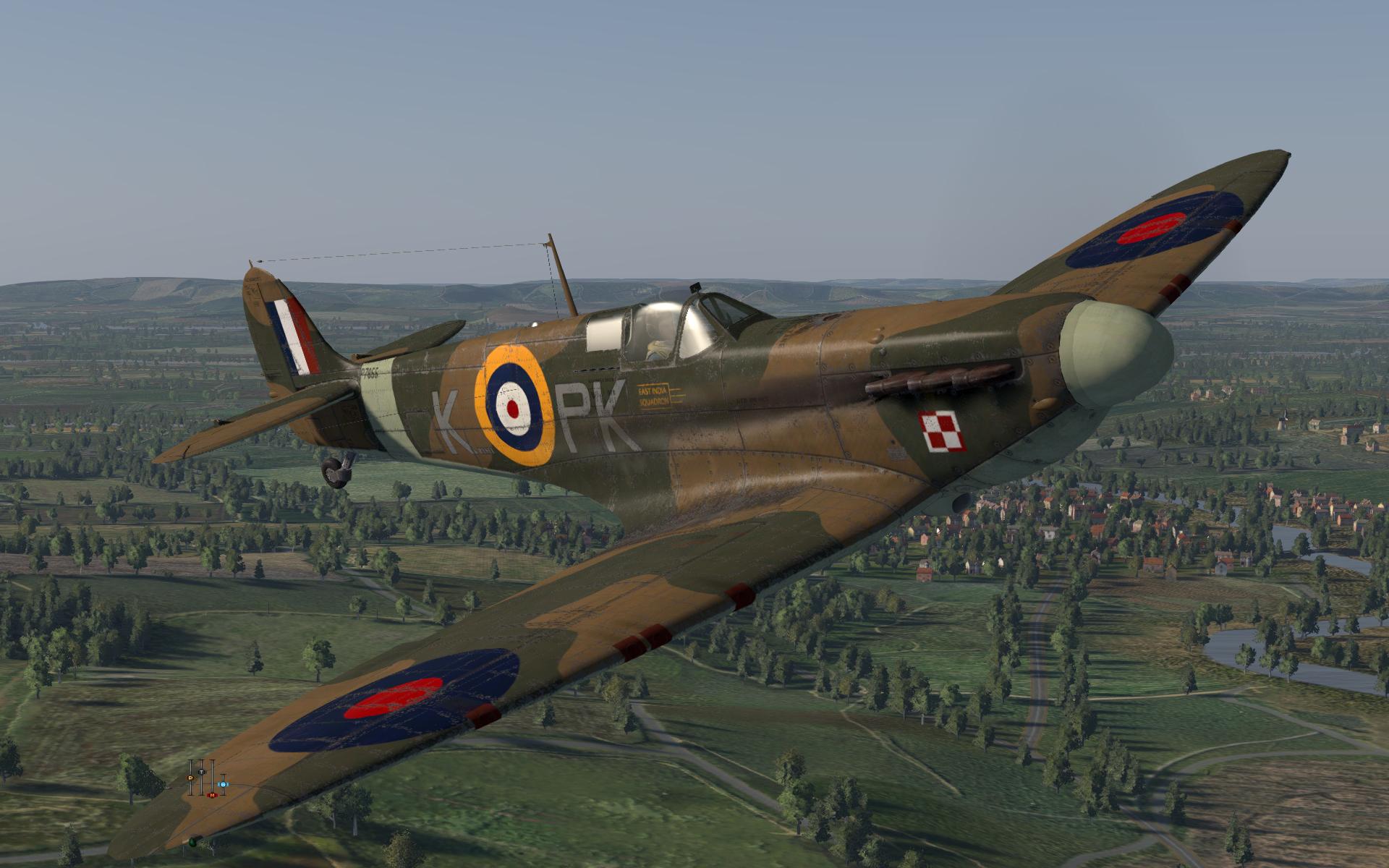 COD KF MkII RAF 315Sqn PKK P7855 Northolt England July 1941 V0A