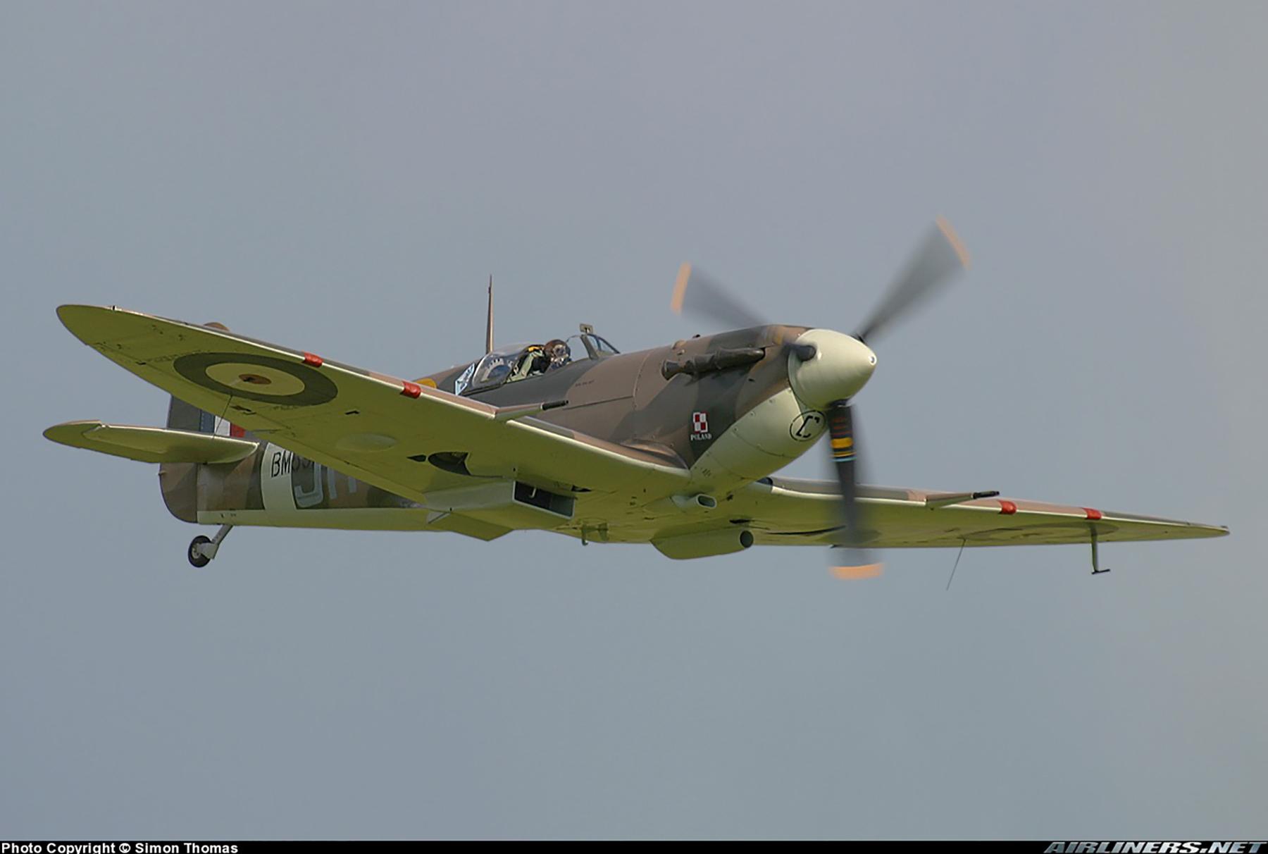 Airworthy Spitfire warbird MkVb RAF 317Sqn JHC BM597 G MKVB 18