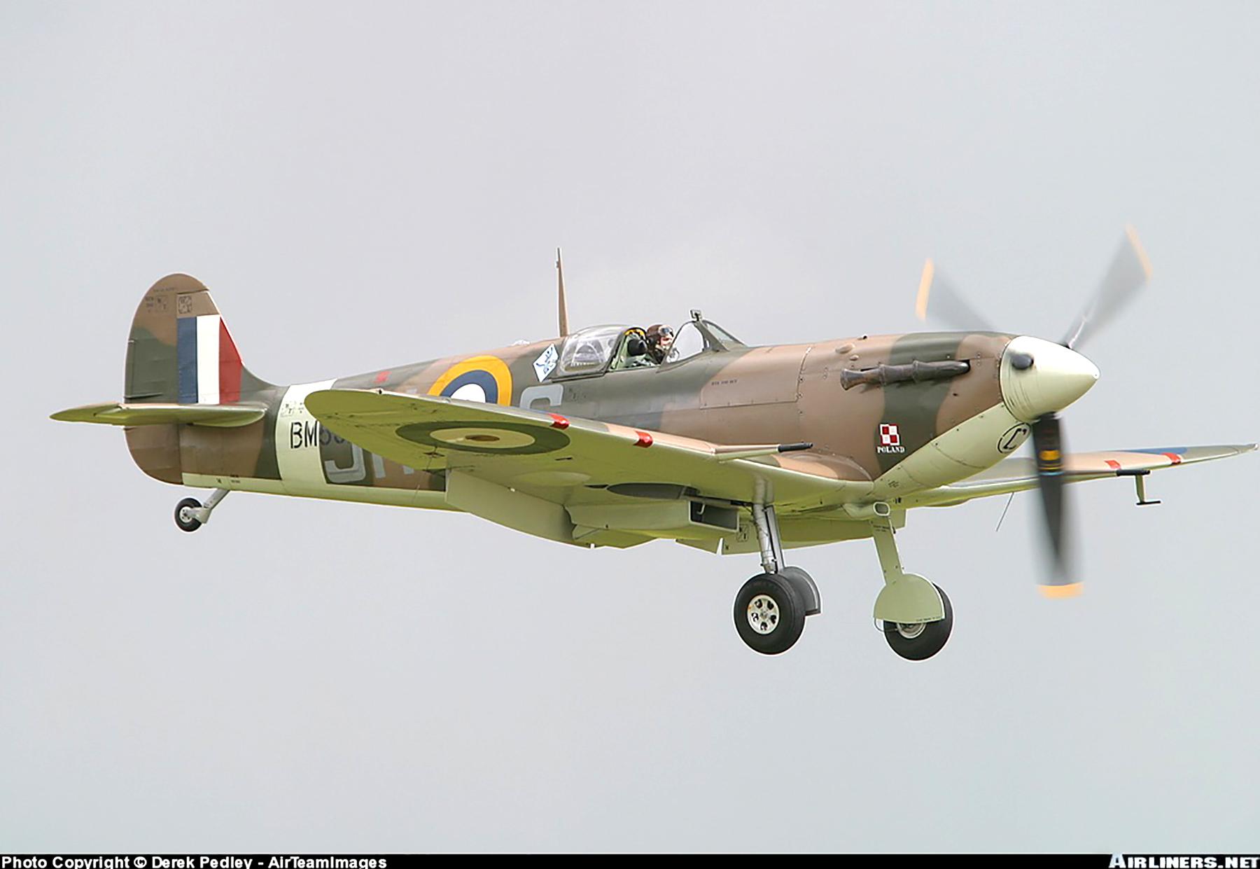 Airworthy Spitfire warbird MkVb RAF 317Sqn JHC BM597 G MKVB 20