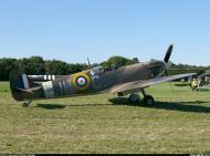 Asisbiz Airworthy Spitfire warbird MkVb RAF 317Sqn JHC BM597 G MKVB 05