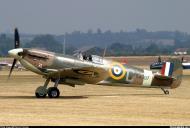 Asisbiz Airworthy Spitfire warbird MkVb RAF 317Sqn JHC BM597 G MKVB 07