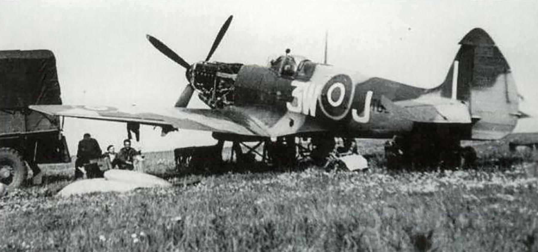 Spitfire LFXVIe RAF 322Sqn 3WJ Holland 1945 01