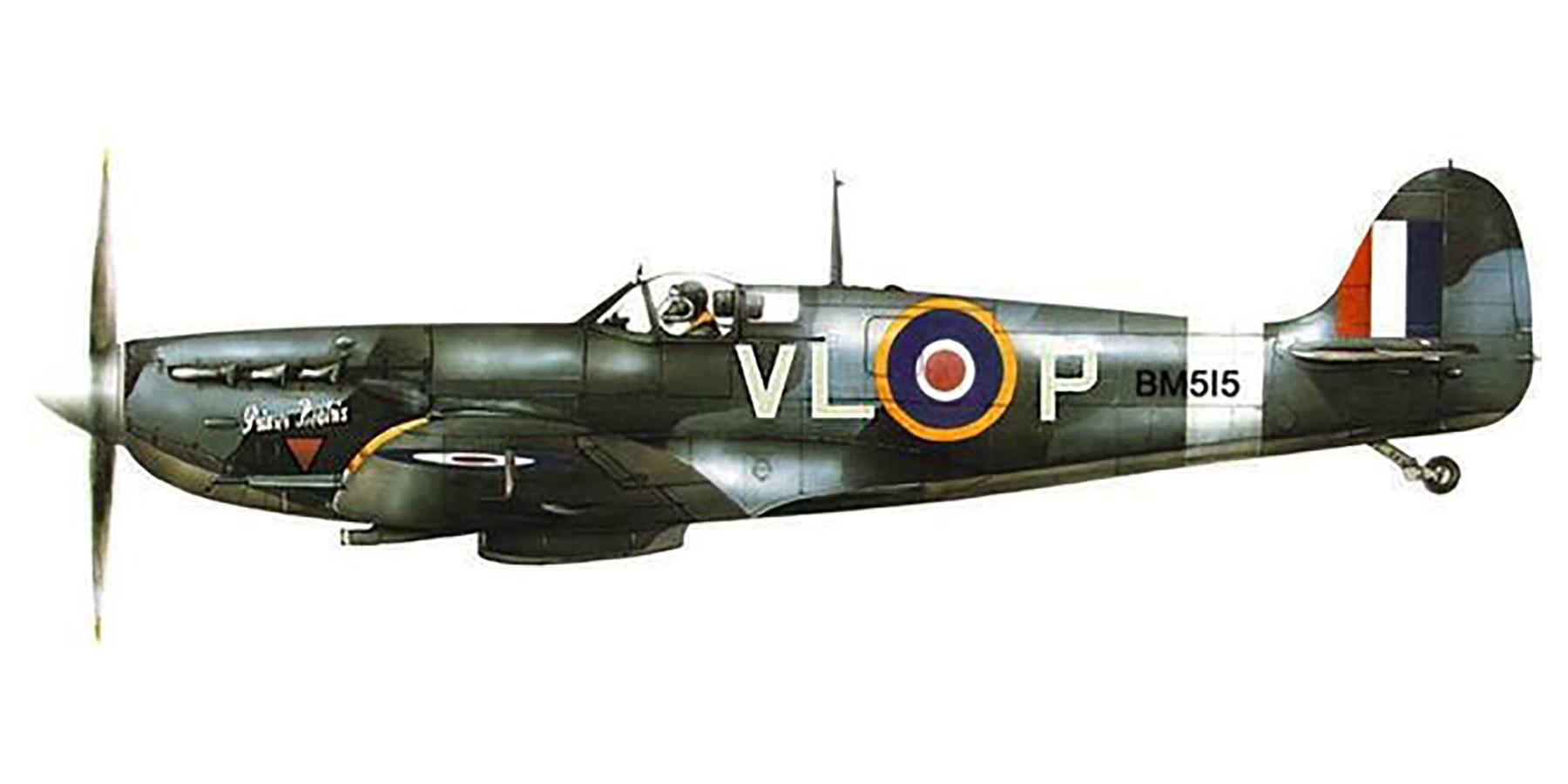 Spitfire MkVb RAF 322Sqn VLP BM515 Woodvale England 1943 0A