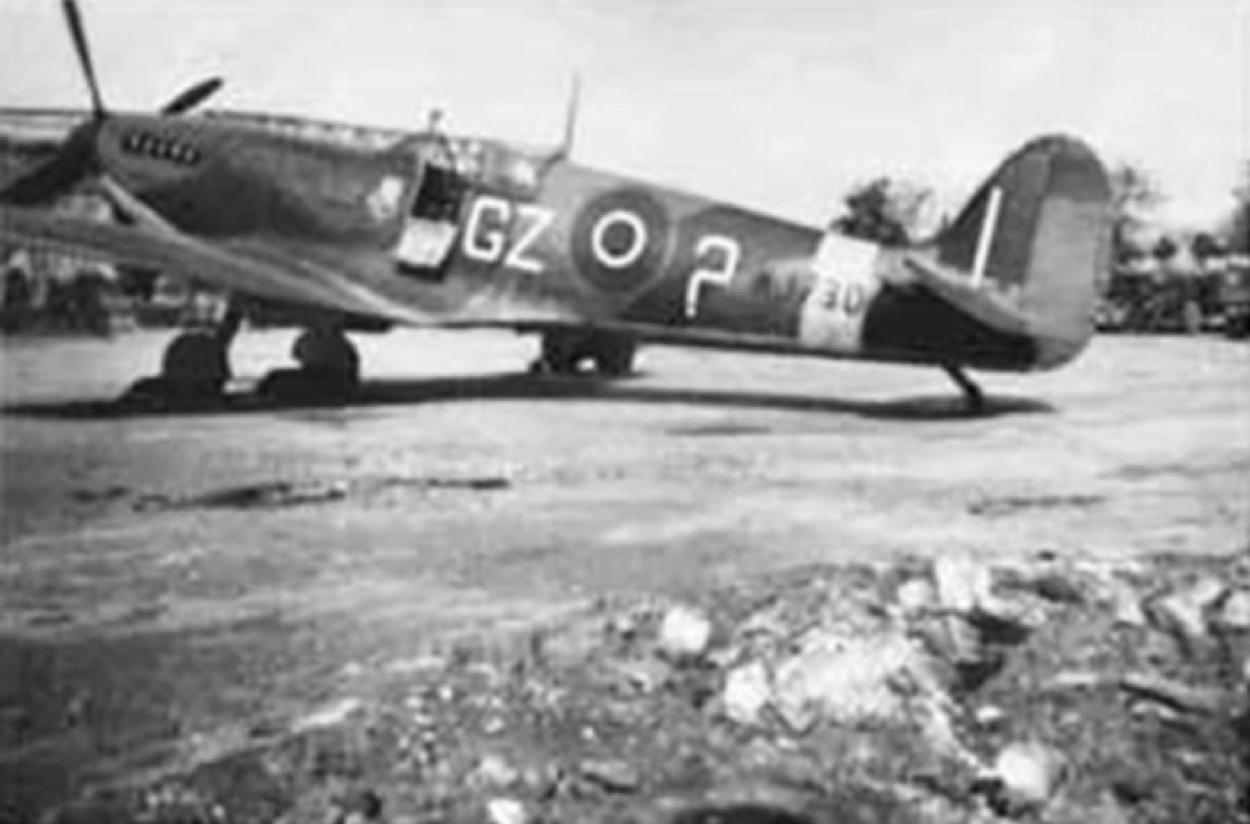 Spitfire LFIX RAF 32Sqn GZ7 George Silvester MJ730 Kolomaki Greece 1944 01