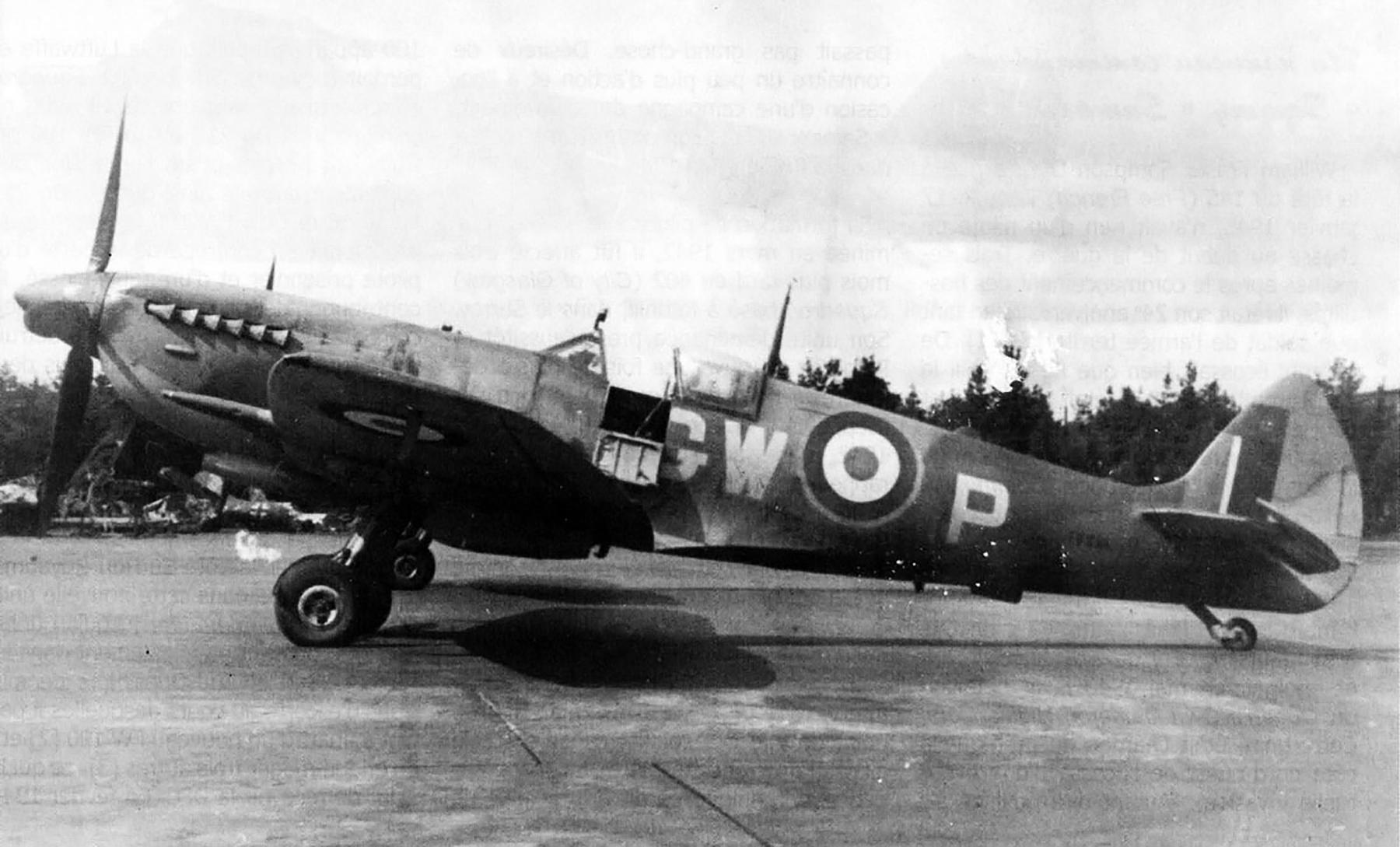 Spitfire LFXVI RAF 340Sqn GWP France TB528 Mar 1945 01
