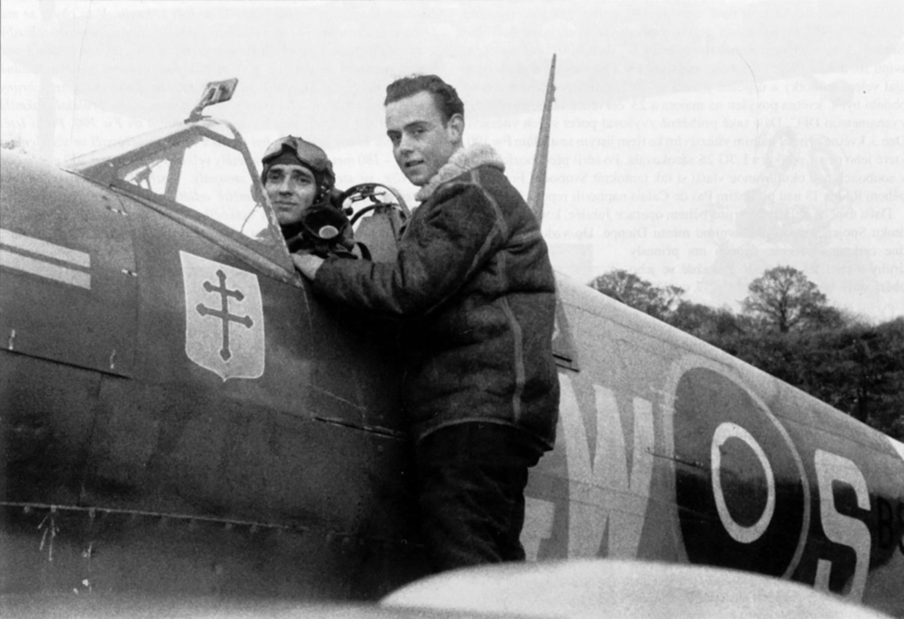 Spitfire MkIX RAF 340Sqn GWS Bernard Duperier BS392 England Oct 1942 01