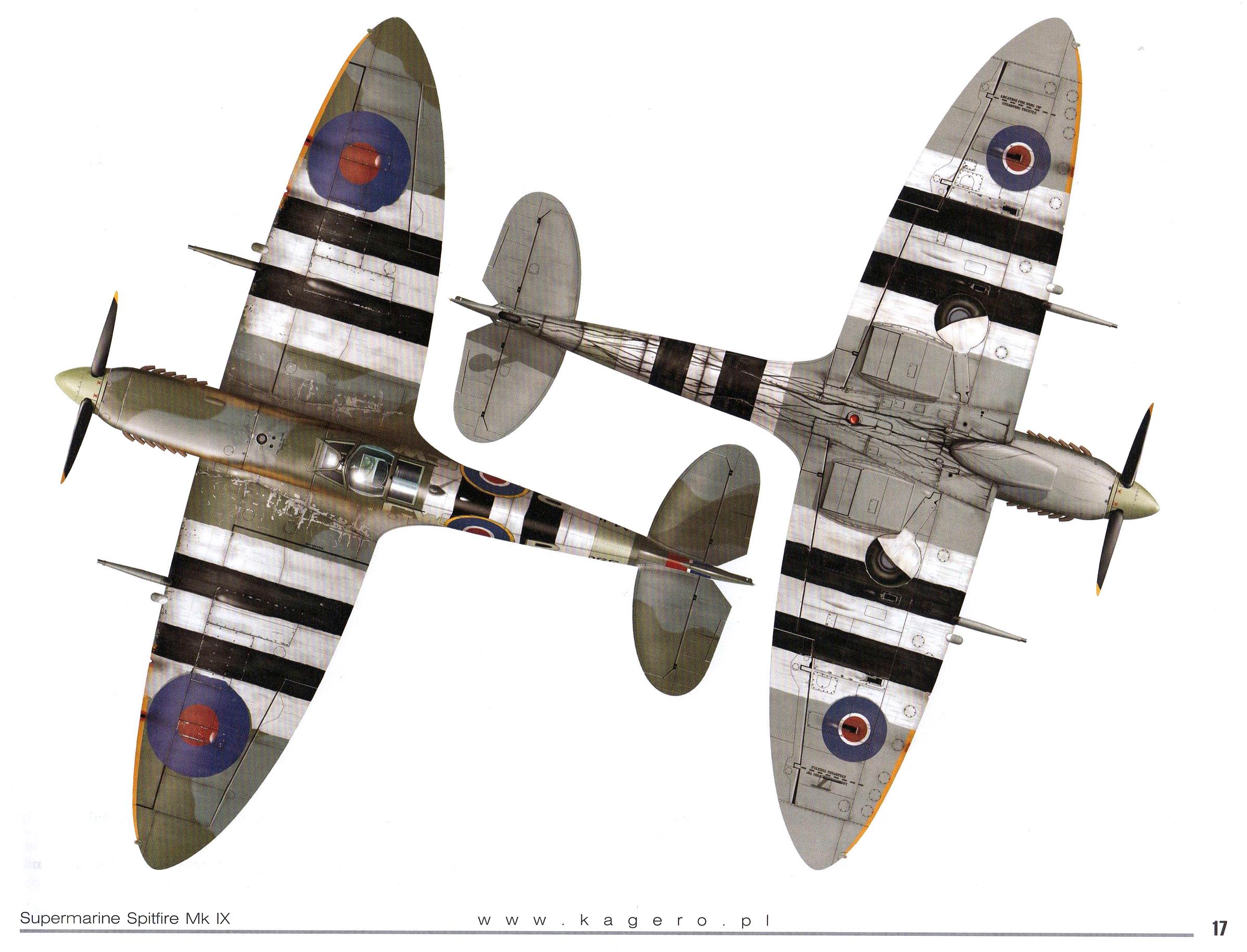 Spitfire MkIXc RAF 340Sqn GWB Denys Boudard MJ966 TC15015 Supermarine Spitfire MkIX Page 17