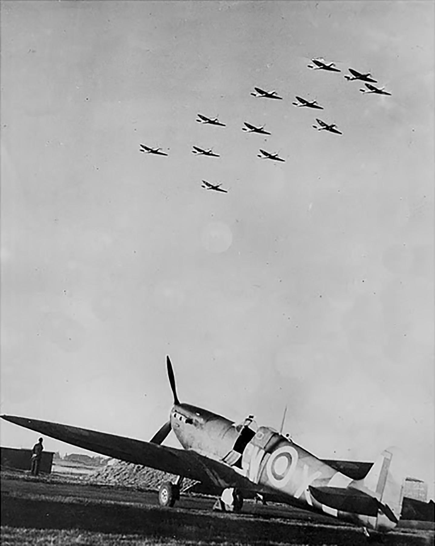 Spitfire MkVb RAF 340Sqn GWX Biggin Hill Oct 1941 01
