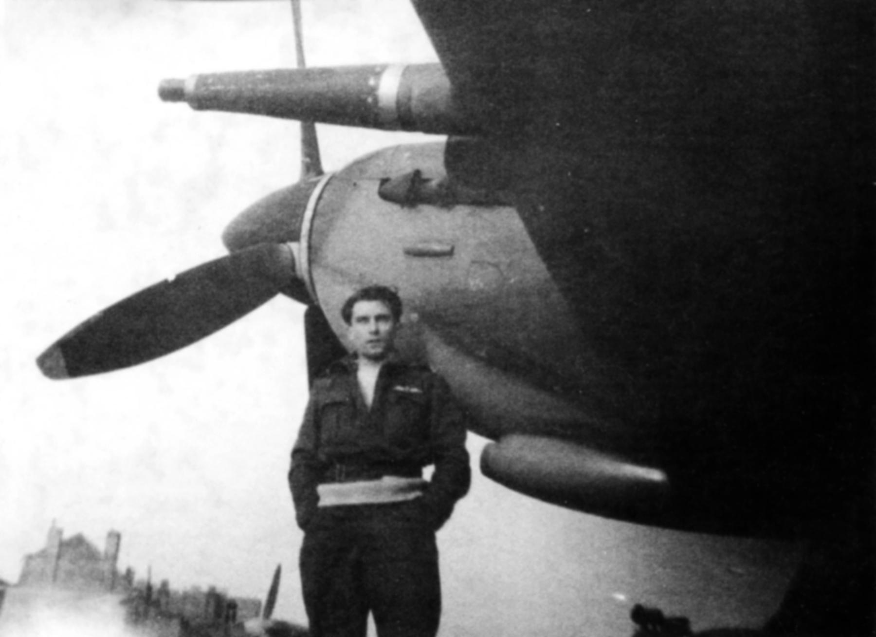 Spitfire LFIX RAF 341Sqn NLN George Lents France Nov 1944 01