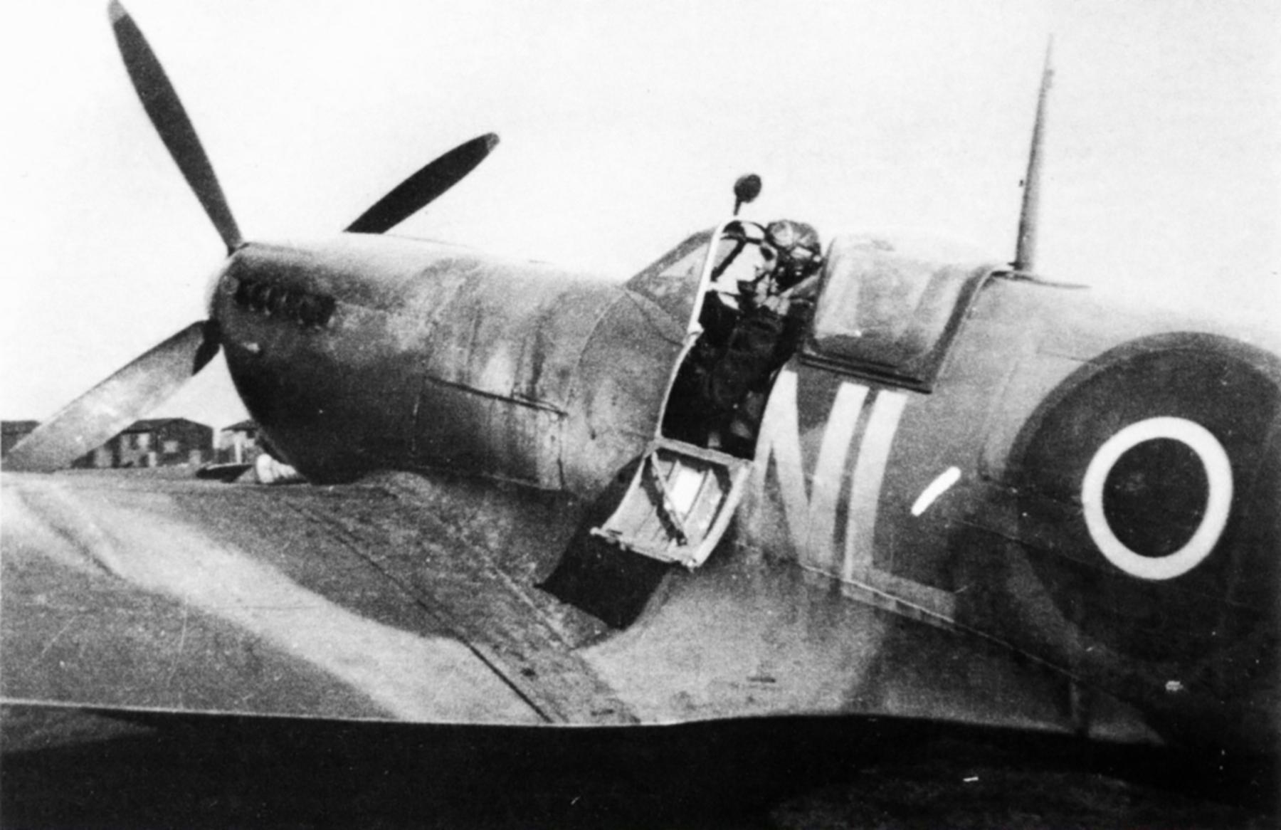Spitfire LFIX RAF 341Sqn NLN George Lents Merston Chichester Sussex June 1944 02
