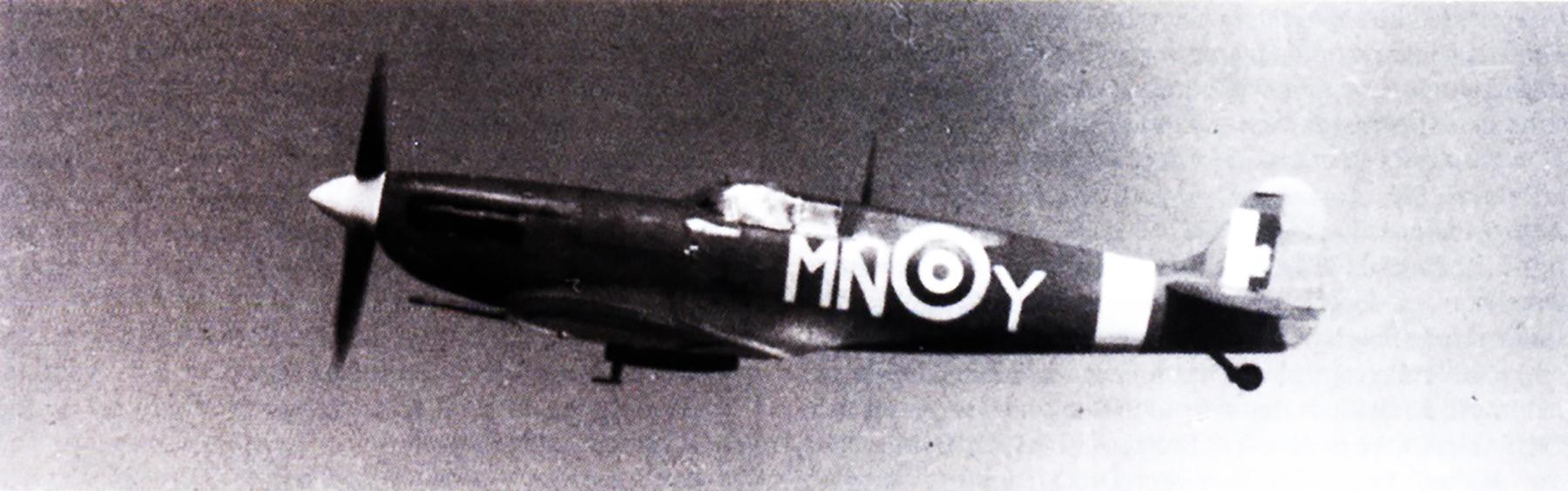 Spitfire MkVb RAF 350Sqn MNY Duke aerial photo 1942 01