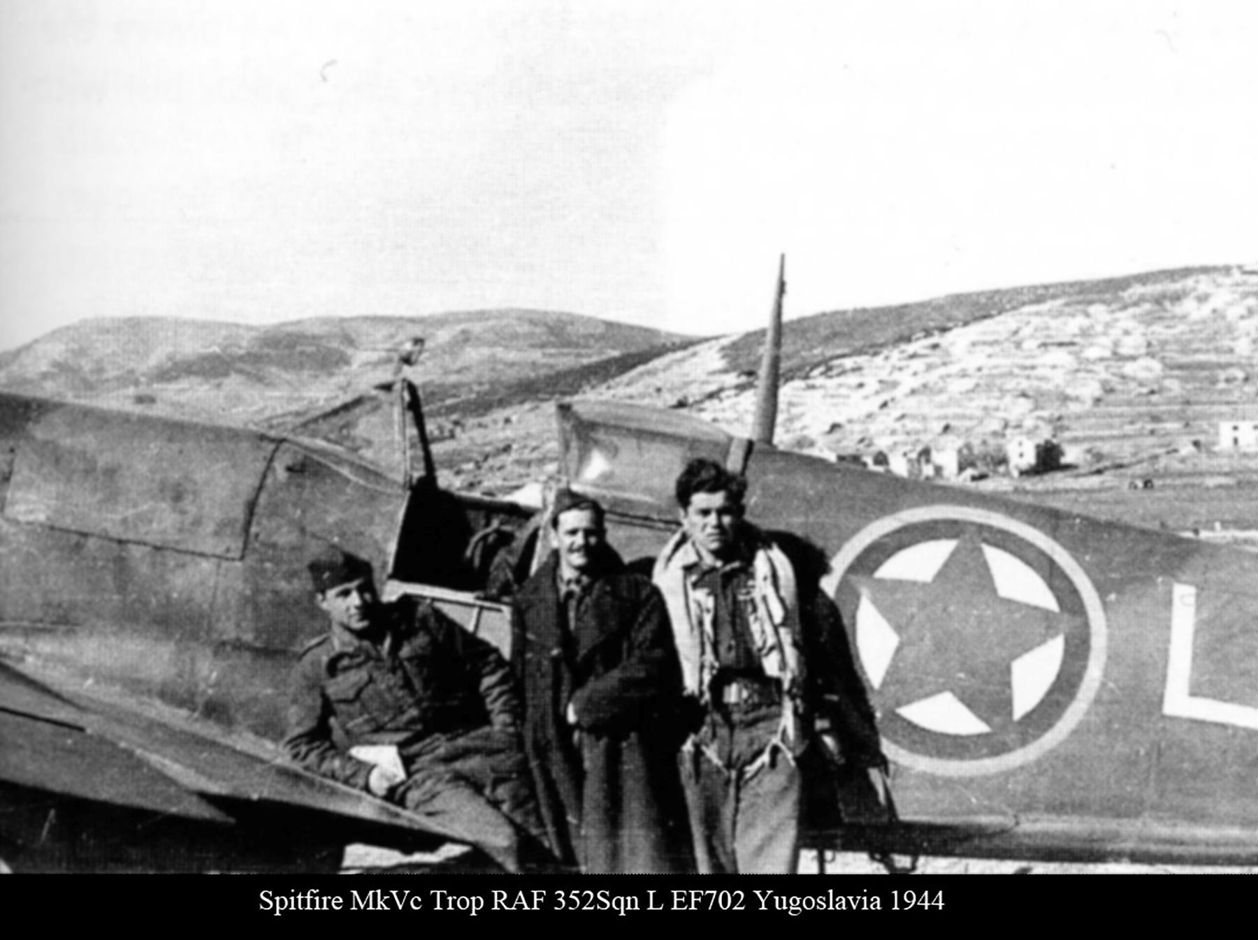 Spitfire MkVcTrop RAF 352Sqn L EF702 Yugoslavia 1944 01
