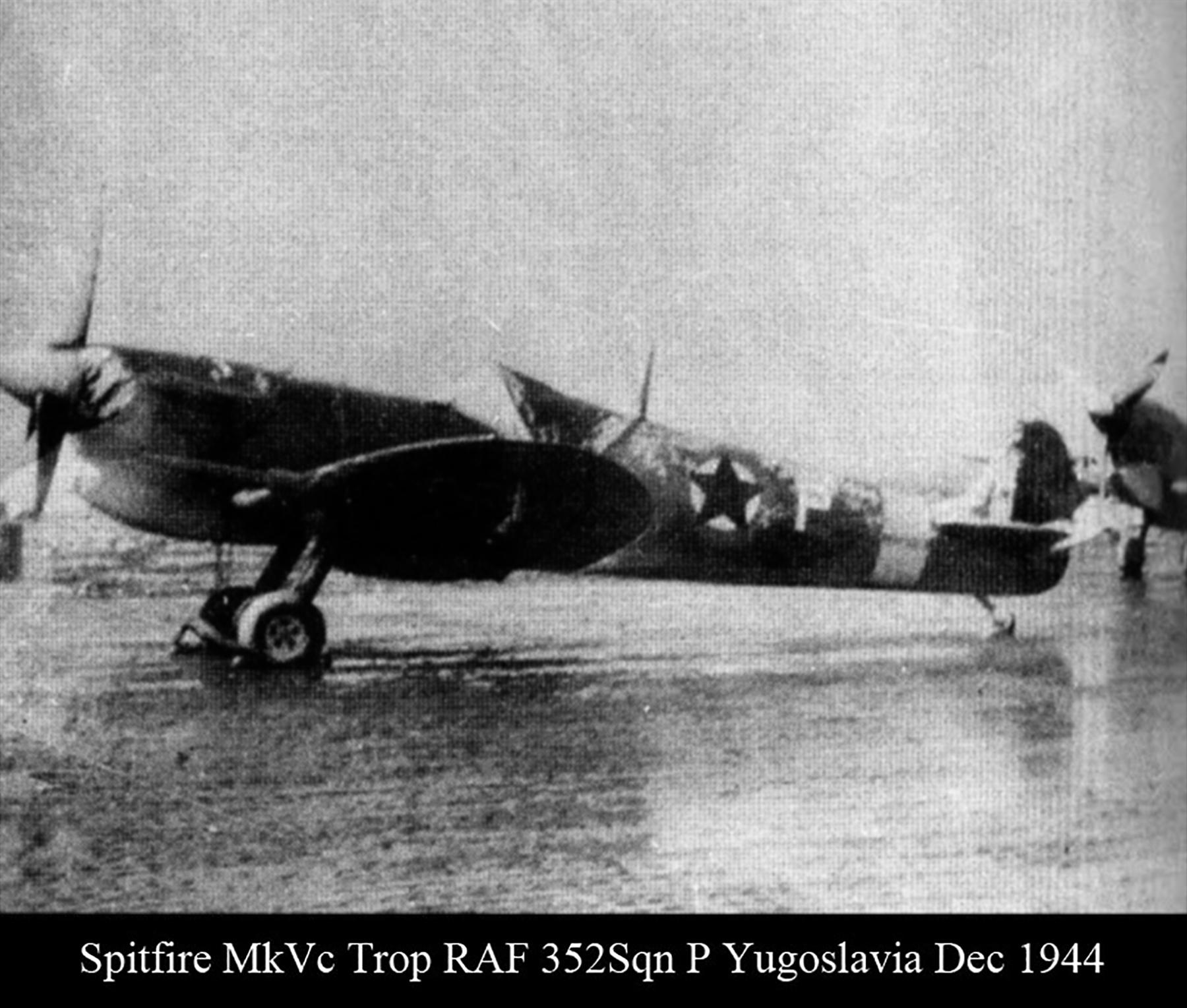 Spitfire MkVcTrop RAF 352Sqn P Yugoslavia Dec 1944 01