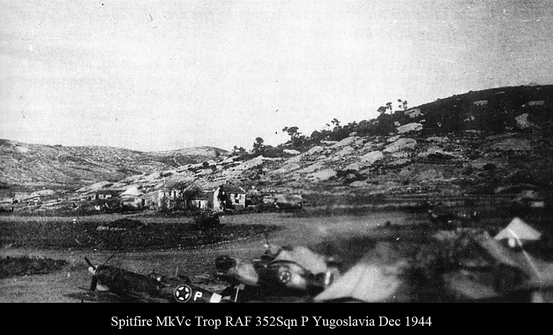 Spitfire MkVcTrop RAF 352Sqn P Yugoslavia Dec 1944 02