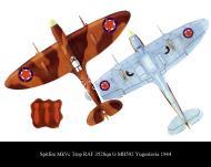 Asisbiz Spitfire MkVcTrop RAF 352Sqn G MH592 Yugoslavia 1944 0B