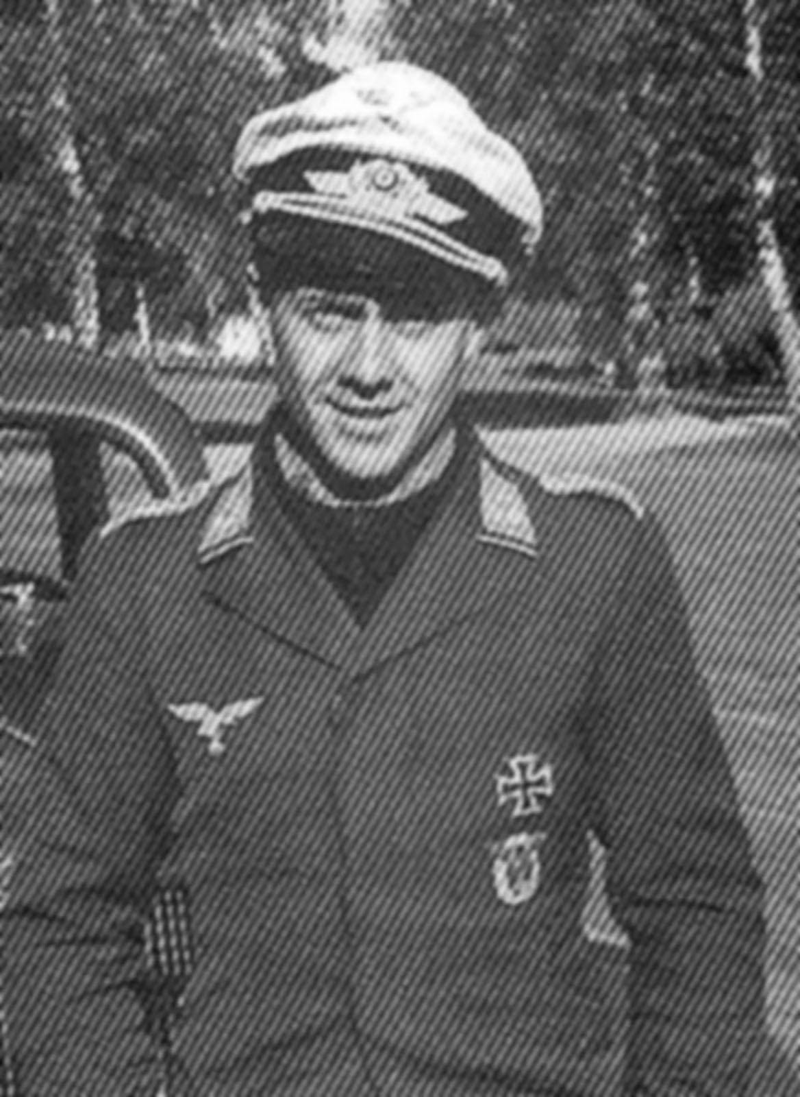 Aircrew Luftwaffe pilot 1.ZG76 Hans Kettling Norway 1940 01