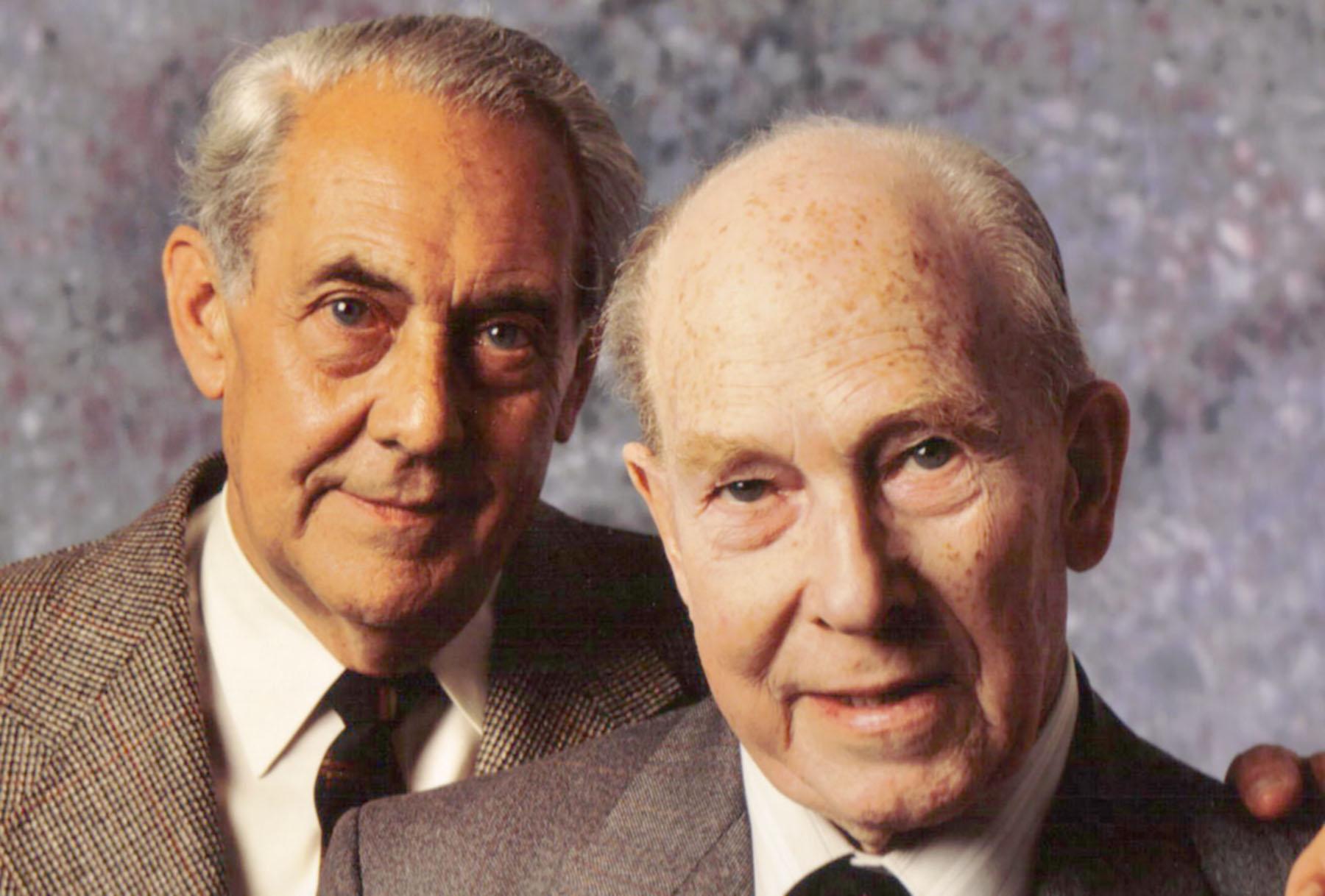 Aircrew RAF Ted Shippy Shipman and Hans Kettling meeting 1985 01