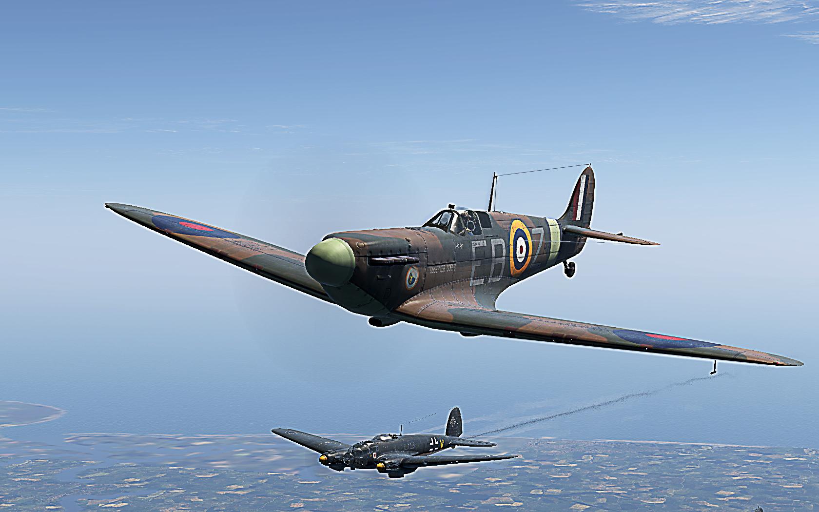 COD KF MkIIa RAF 41Sqn EBZ Jack Stokoe P7666 England 1941 V01