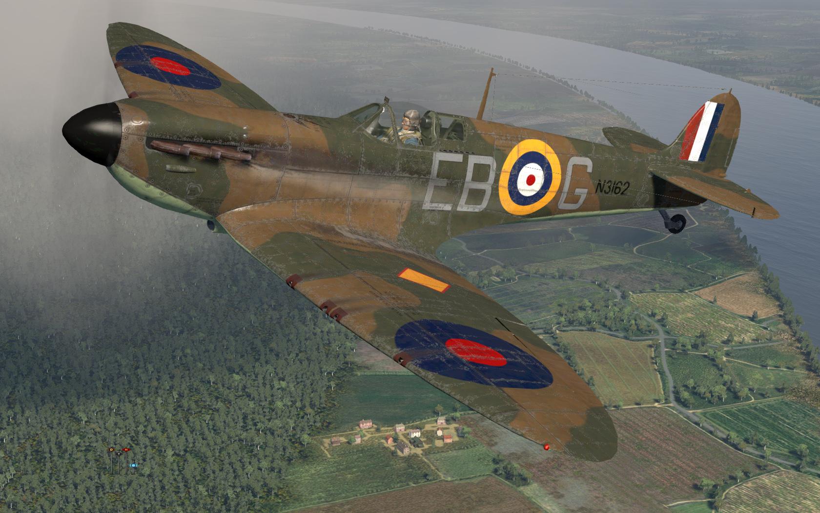 COD KF MkIa RAF 41Sqn EBG Eric Lock N3162 England 1939 V0A