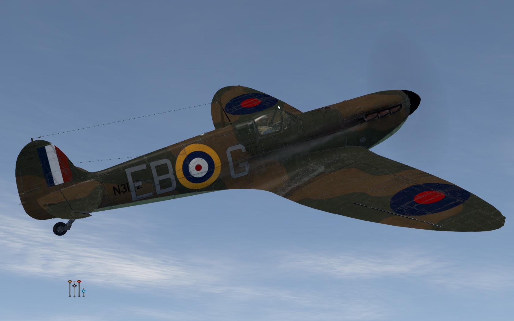 COD KF MkIa RAF 41Sqn EBG Eric Lock N3162 England 1939 V0C