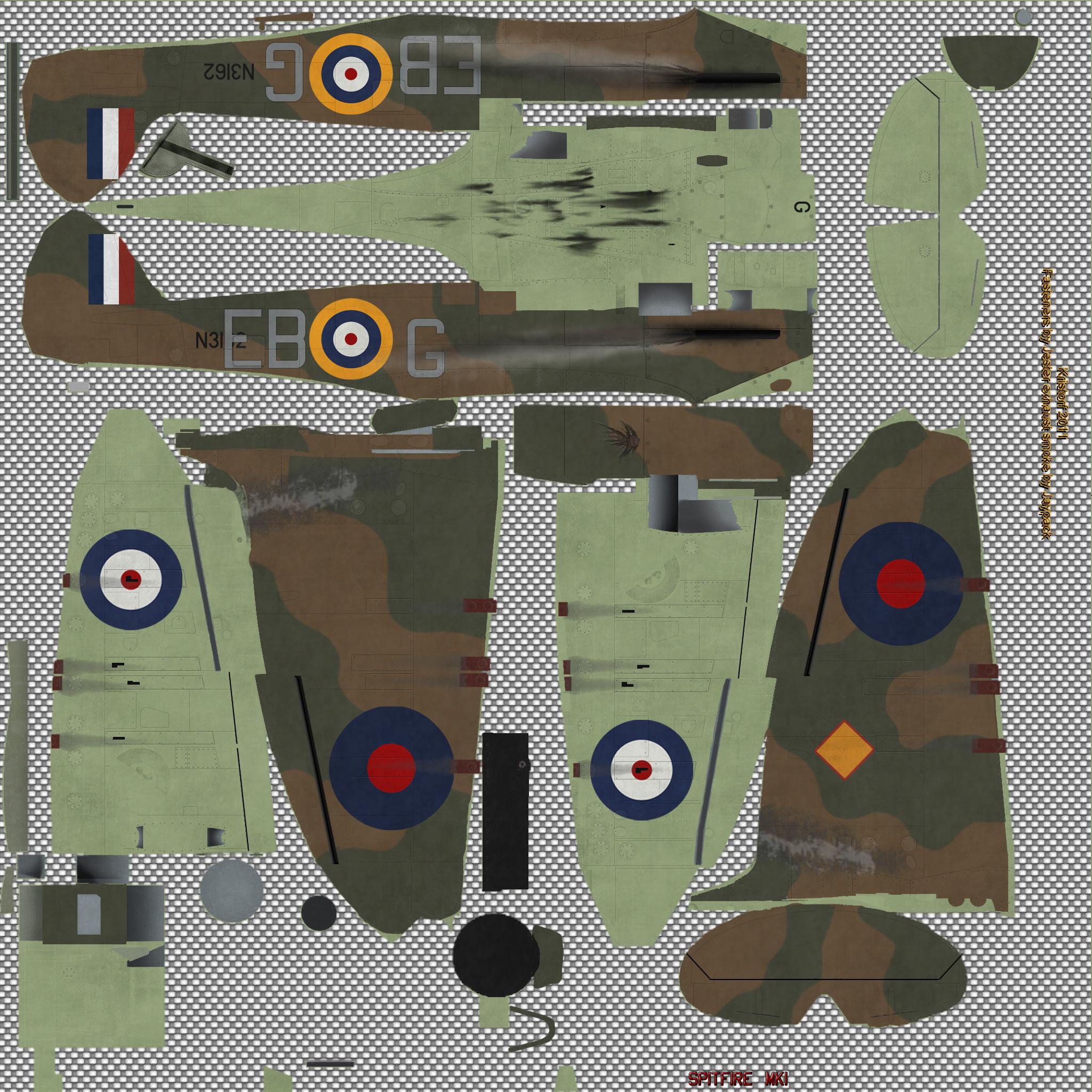 COD KF MkIa RAF 41Sqn EBG Eric Lock N3162 England 1939