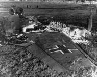Asisbiz Hans Kettling crash landed near Barnard Castle and set his aircraft alight before capture 15th Aug 1940 01