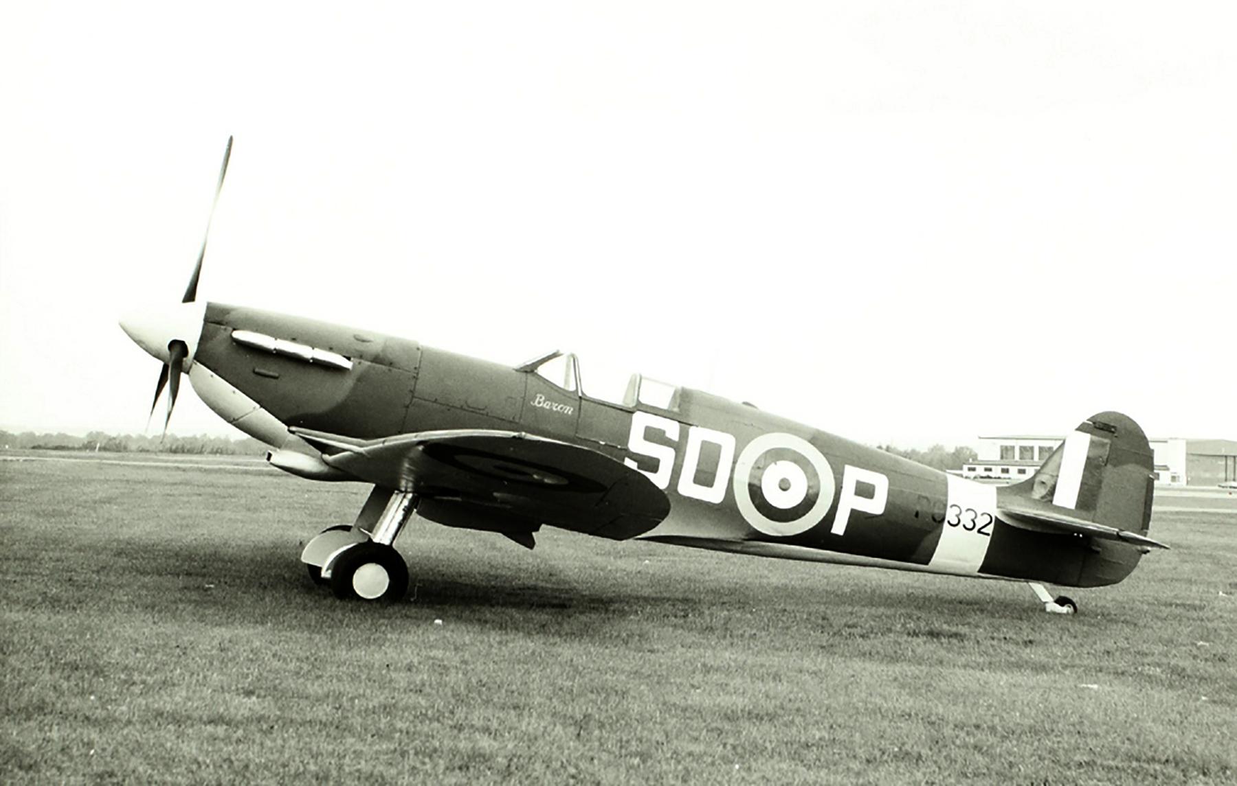 Spitfire MkVb RAF 501Sqn SDP Px332 Friston Jun 1944 0