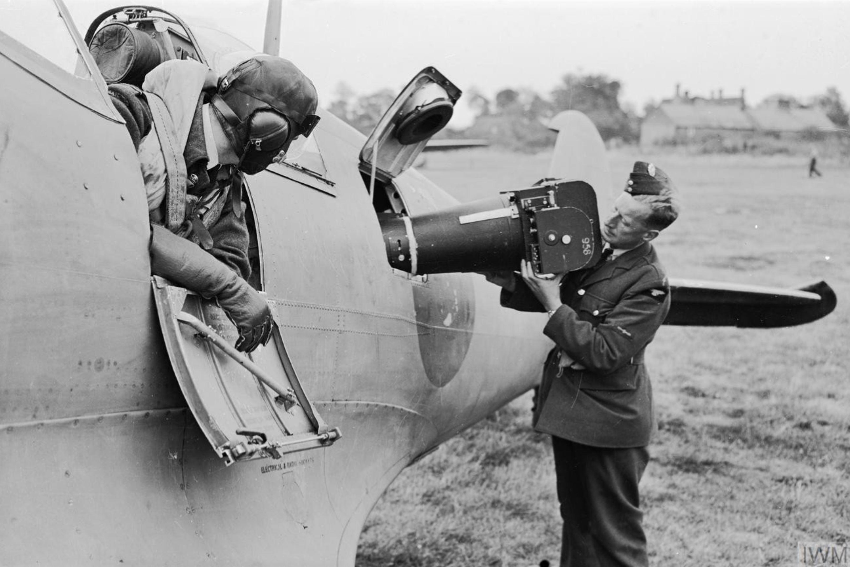 Spitfire PRXI RAF 541Sqn based at Benson Oxfordshire IWM CH10847