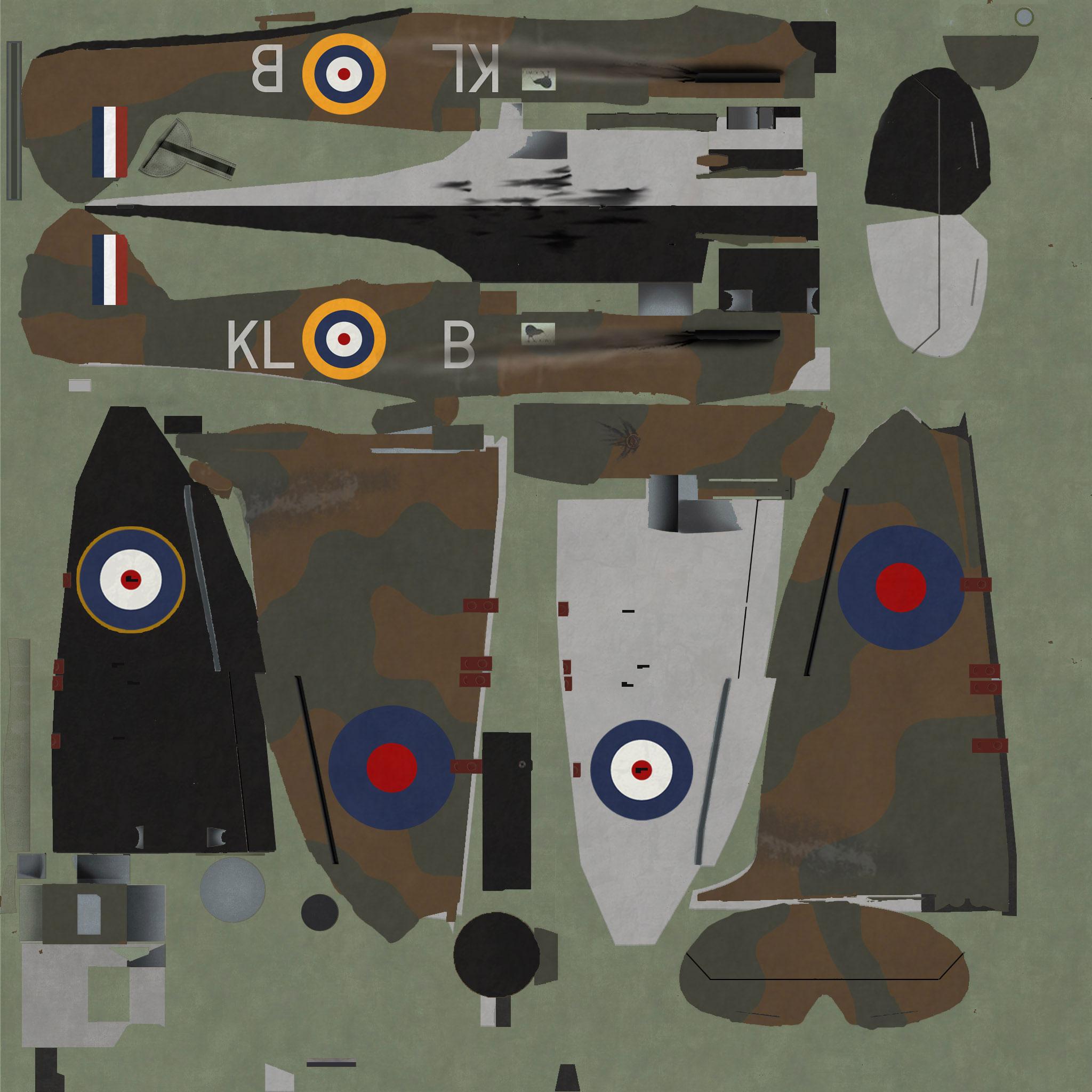 COD KF MkI RAF 54Sqn KLB Allan Deere N3183 Hornchurch 1940