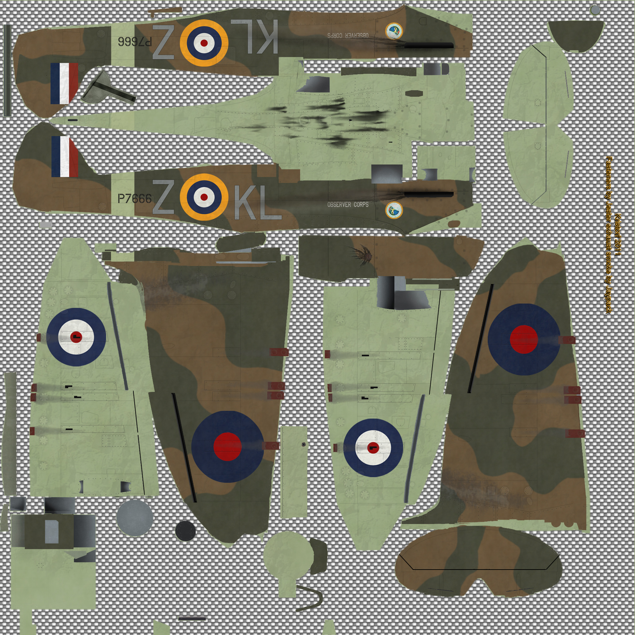 COD KF MkIIa RAF 54Sqn KLZ Don Finlay P7666 Hornchurch 1940