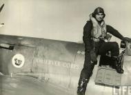 Asisbiz Aircrew RAF Donald O Finlay steping into his Spitfire Mk IIa 01