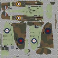 Asisbiz COD KF MkIIa RAF 54Sqn KLZ Don Finlay P7666 Hornchurch 1940