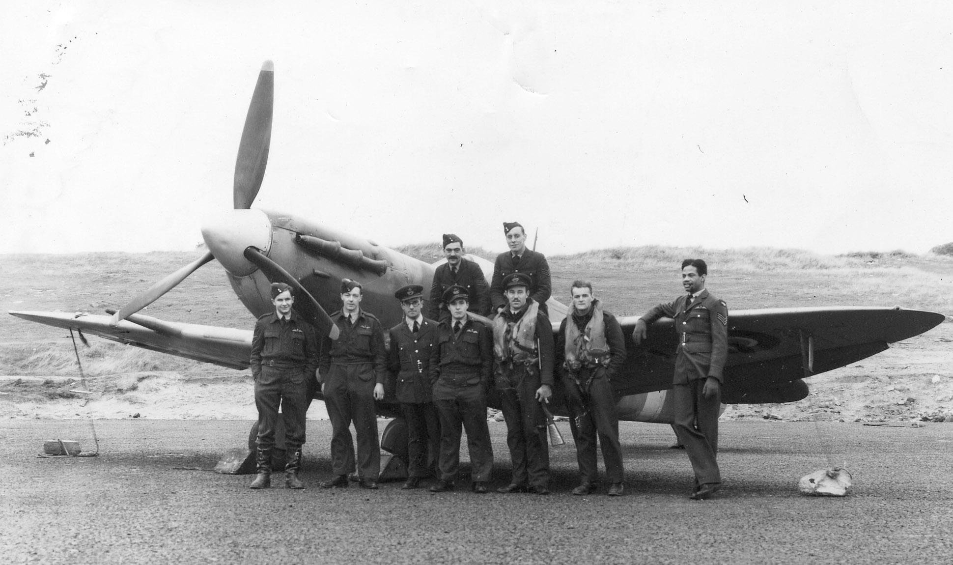 Aircrew RAF 602Sqn Sumburgh 01