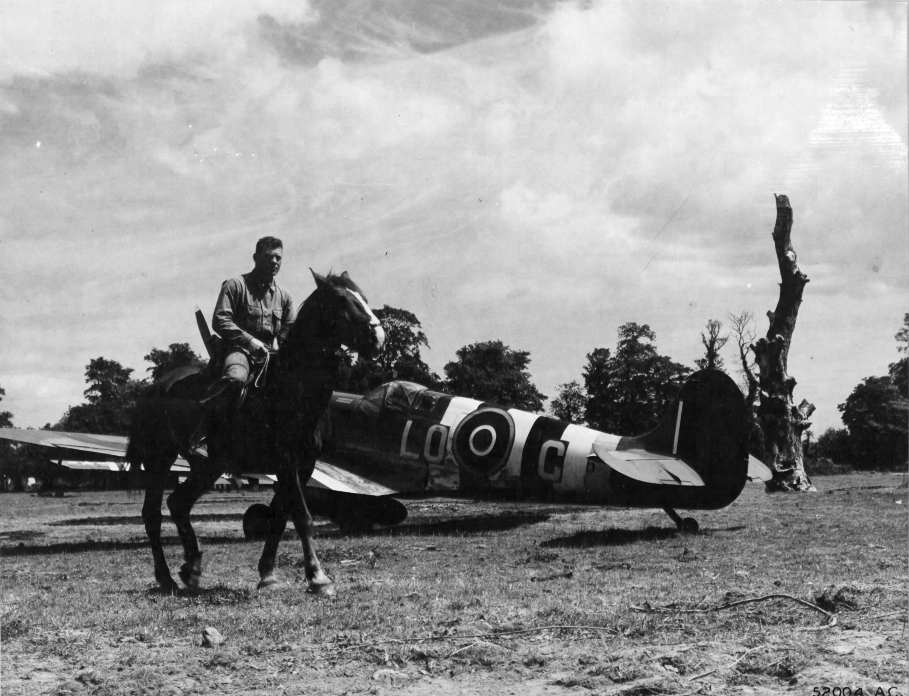 Spitfire LFIX RAF 602Sqn LOC Normandy 1944 01