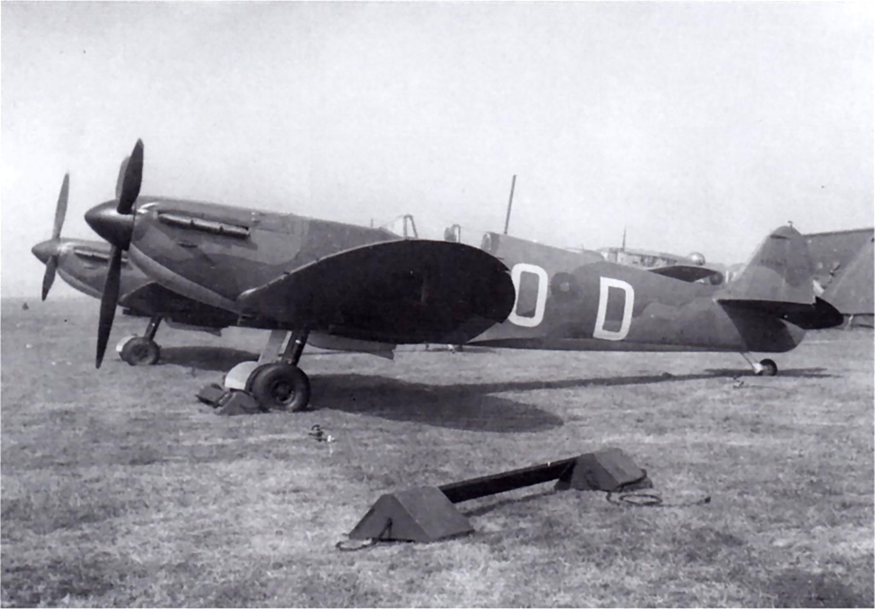 Spitfire MkI RAF early camouflage scheme Battle of France 1940 01