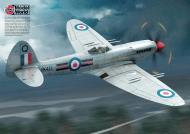 Asisbiz Spitfire Mk22 RAuxAF 603Sqn RAF Q PK433 Turnhouse Edinburgh Scotland 1951 by Airfix 0A