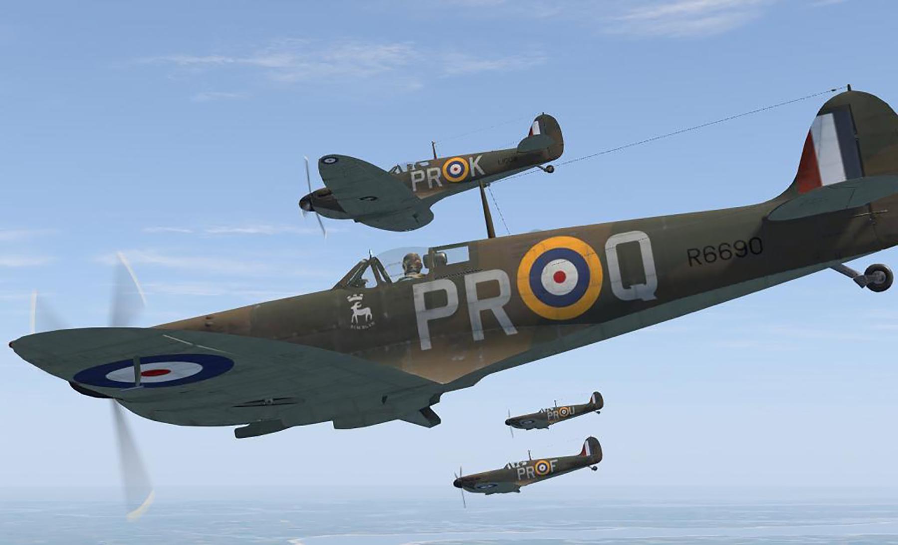 COD C6 MkI RAF 609Sqn PR Middle Wallop 1940 V0A