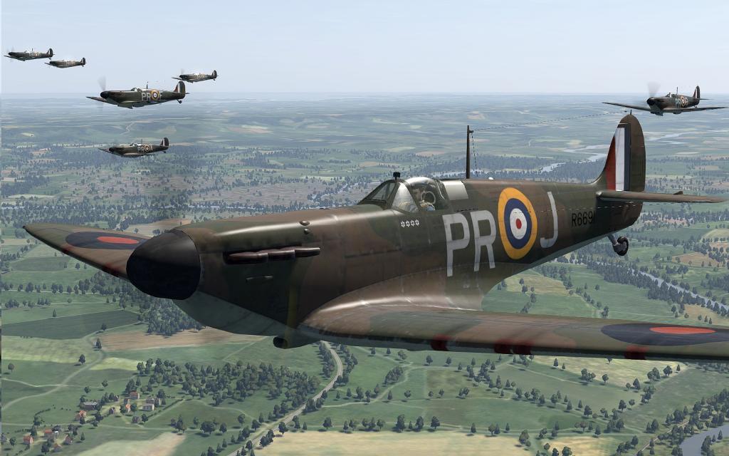 COD C6 MkI RAF 609Sqn PR Middle Wallop 1940 V0B