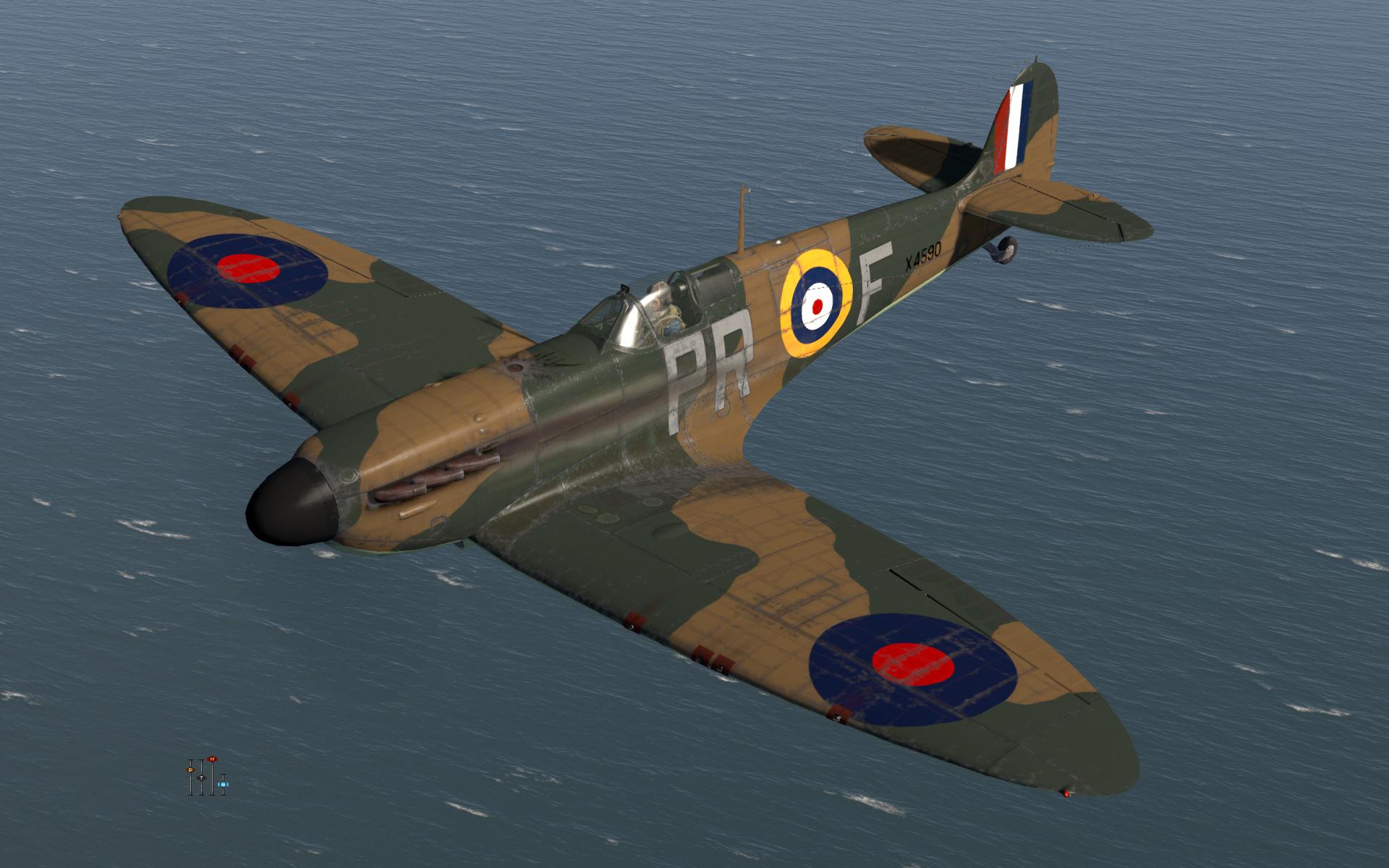 COD KF MkI RAF 609Sqn PRF X4590 Middle Wallop 1940 V0A