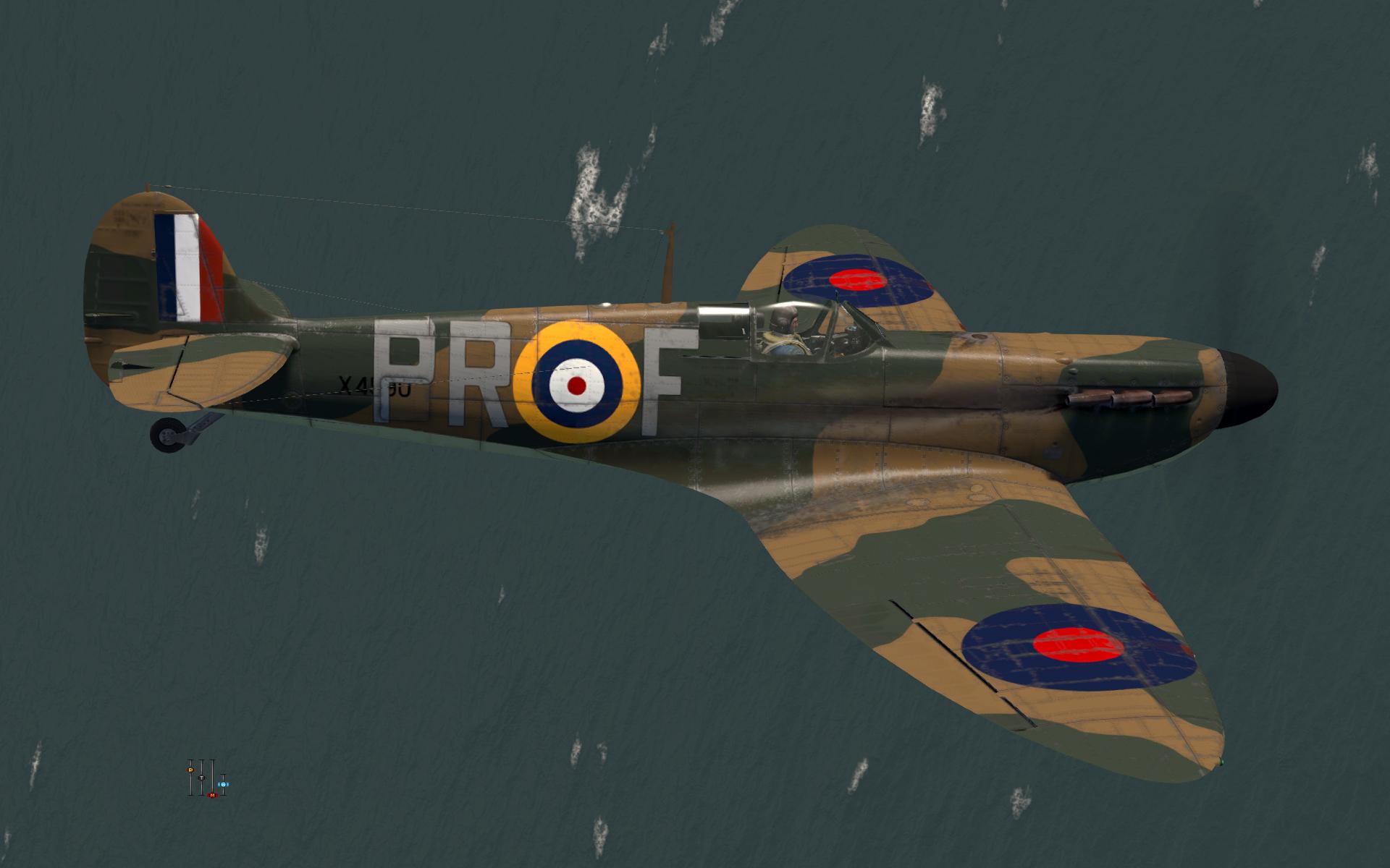 COD KF MkI RAF 609Sqn PRF X4590 Middle Wallop 1940 V0B